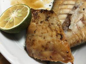 醤油もろみで美味しい焼き魚