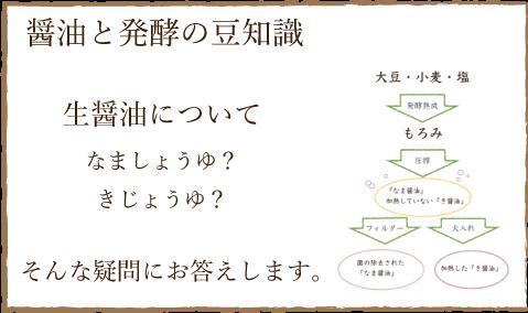 醤油と発行の豆知識