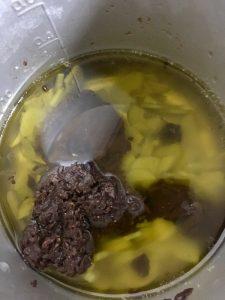 醤油搾りかす、醤油もろみでベジタリアンバーニャカウダ温サラダ